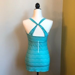 EUC MPG Workout/Athletic Tank with Built-In Bra